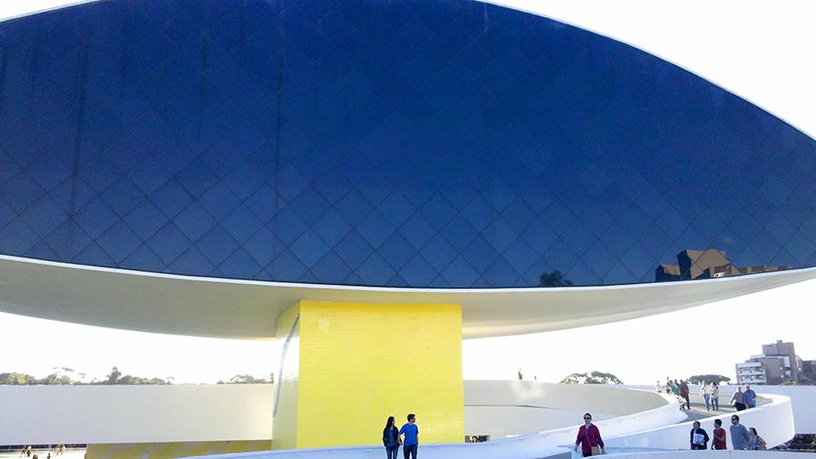 A Fachada do Museu