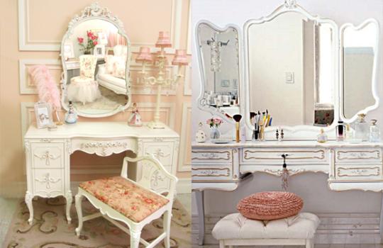 Decoração vintage retro para quartos femininos Fiama  ~ Quarto Pequeno Vintage