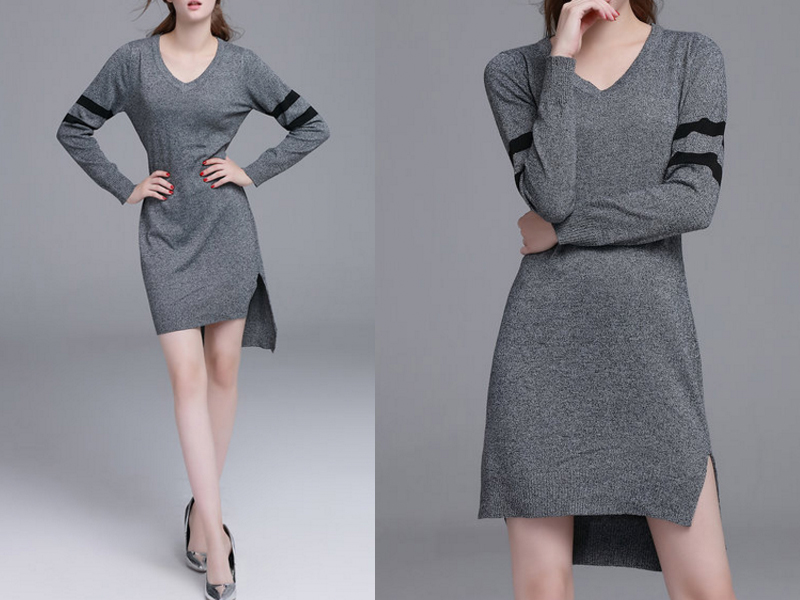 comprar-vestido-cinza-lindo-e-barato
