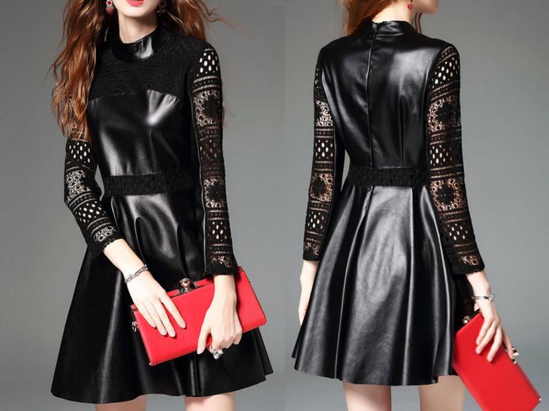 vestido-preto-de-couro-vestido-de-couro-comprar