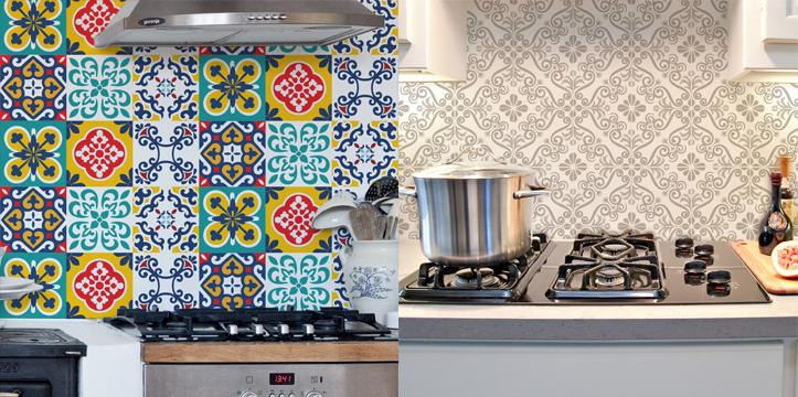 Adesivo em Azulejo para Cozinha