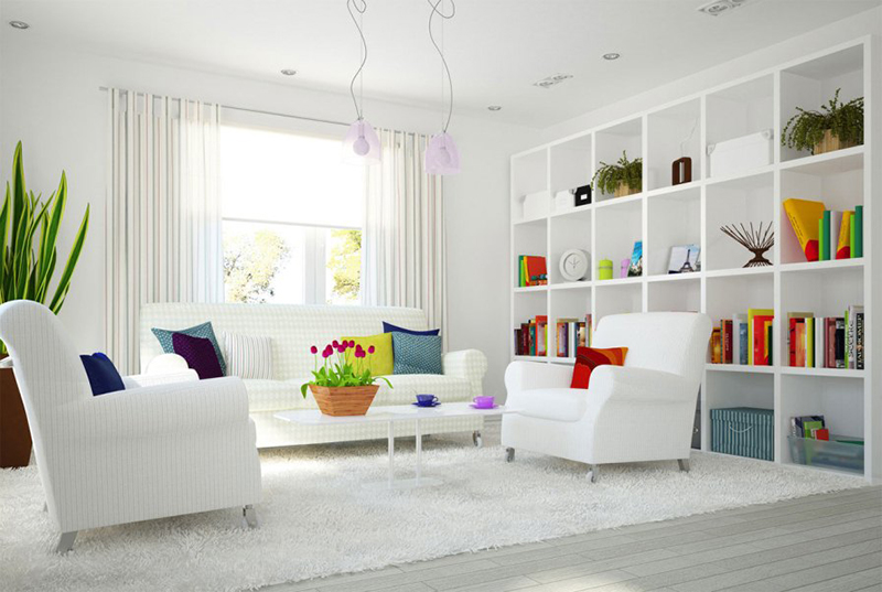 Modern-White-Interior-Home-Decoration-Pictures
